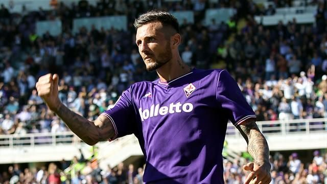 La Fiorentina aggancia il Milan in classifica