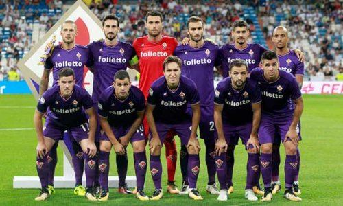 Le gare stagionali della Fiorentina