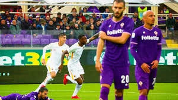fiorentina-roma 2-4