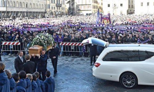 Funerali Astori , il mondo del calcio piange