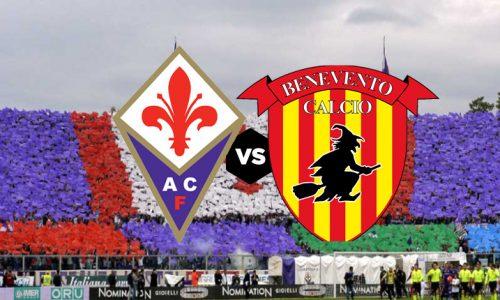 Fiorentina Benevento , domenica 11 marzo