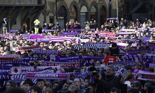 Fiorentina Benevento , per ricordare Davide .