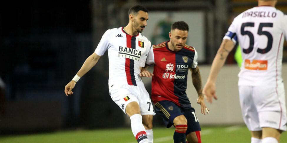 Cagliari-Genoa 0-1