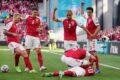 Europei 2021 : Malore in campo per il centrocampista Eriksen .